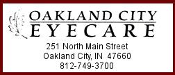 Oakland City Eyecare Ad