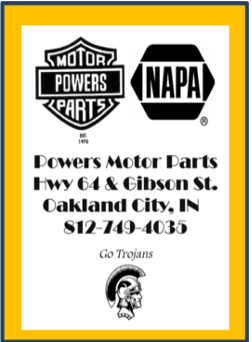 Powers Motor Parts ad